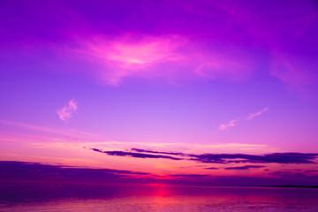 Sunset Beauty Weather