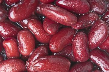 Baked beans closeup