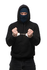 Arrested handlocked theft