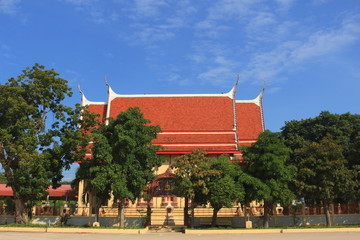 Temple at Wat Don Phutsa, U thai, Ayutthaya