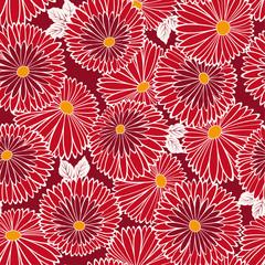 菊のパターン