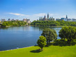 Panoramic view of Parliament Hill, Ottawa, Canada