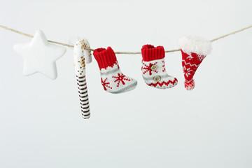 Decori di Natale appesi ad un filo #2
