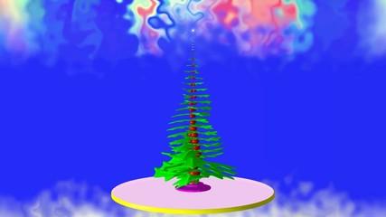 A Christmas tale.The Christmas tree