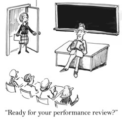"""Ready for your performance review?"""