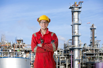 Petrochemical factory operator