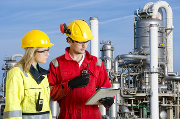 Petrochemical safety officers