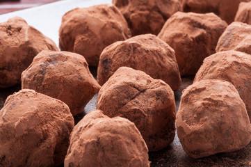 Cioccolatini tartufi  casalinghi