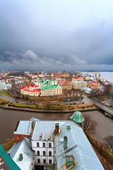 Выборг, Россия. старый город