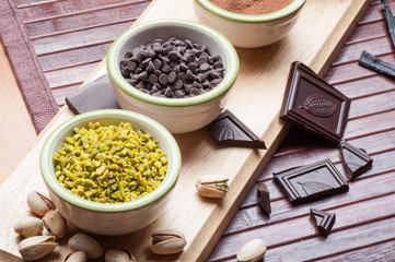 Ingredienti per cioccolatini e praline