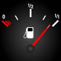 Tankanzeige Benzin Diesel  #141206-svg05