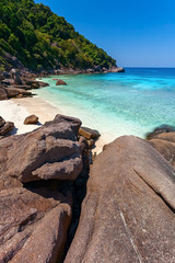 beach, sea, stones