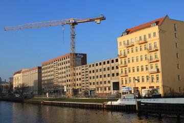 Abriss am Schiffbauerdamm in Berlin (12/ 2014)