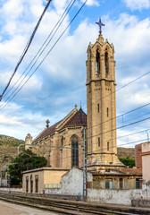 Iglesia de Santa Maria in Portbou, Spain
