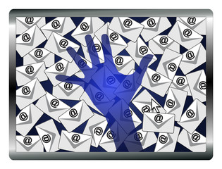Email Spy Concept