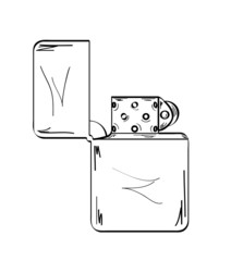 lighter, sketch