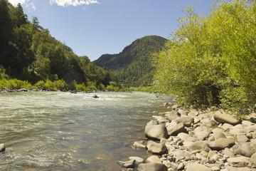 The Bio Bio river, Chile