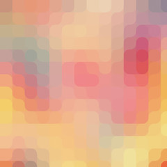 Round pixel art pattern. Colorful modern background