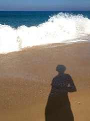 my shadow and the sea