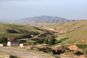 Valley of the Fann Mountains (also known as the Fanns) are part
