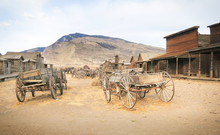 "Постер, картина, фотообои ""Old west, Old trail town, Cody, Wyoming, United States"""