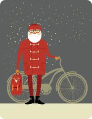 Trendy Santa Claus