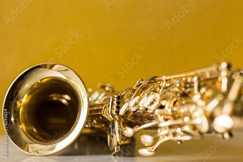 Leinwandbild Motiv Saxophone