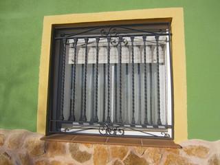 Mediterranean window with grill