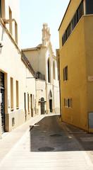Callejuela del barrio viejo de Girona