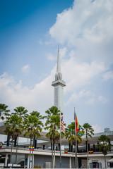 National Moschee Kuala Lumpur Malaysia