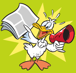 Goose-herald