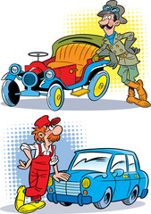 Driver and mechanic