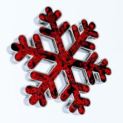 Snowflake. Christmas Decoration