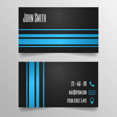 Business card template - creative modern design