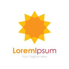 Great bright Sun new decoration concept elements icon logo