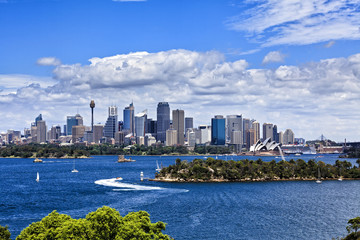 Sydney CBD from Taronga Zoo