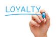 Loyalty Blue Marker