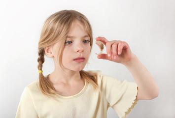 Girl's new hearing aid
