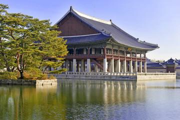 Gyeonghoeru Pavilion, Gyeongbokgung Palace, Seoul Korea