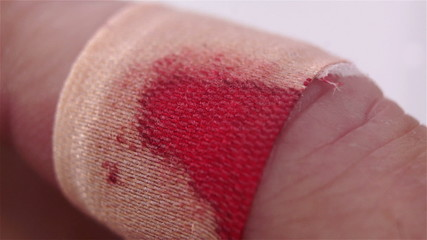 Bloody Bandaged Finger Macro