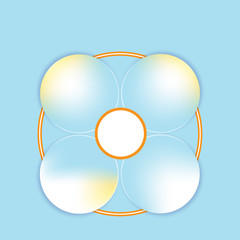 Infographic vector element 2