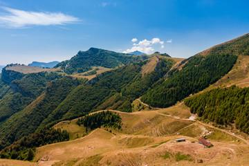 Dolomites mountain view