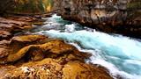 Maligne Canyon Cascades Canada poster