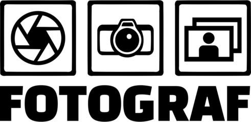 Photographer Icons Fotograf