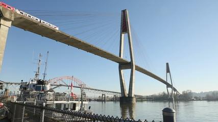 Commuter Rail Bridge, Fraser River, New Westminster