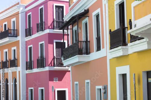 Fotobehang Caraïben Puerto Rico architecture