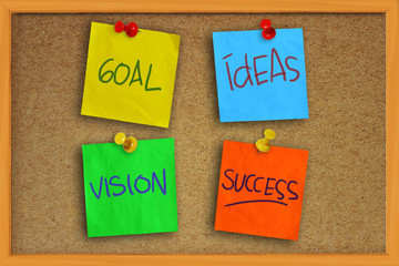 Goal, Ideas, Vision and Success