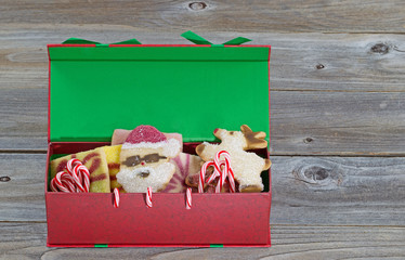 Holiday Gift Box filled with Sweets