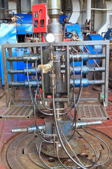 Wire Line Blow Out Preventer for Perforation on the rig floor