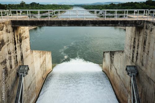 Fotobehang Dam Dam